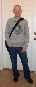 My LAST first day of college, 13 lbs ago.