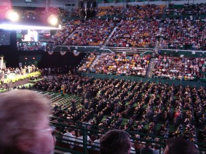 This will be my 3rd family USF graduation.