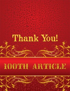 100th Thank You