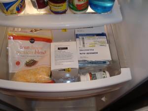 Refrigerator meds