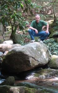 Hiking - found a rock