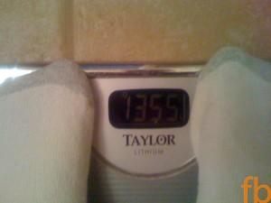 135.5 Pounds