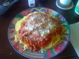 Full Plate of Spaghetti