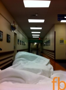 The Long Roll to the OR