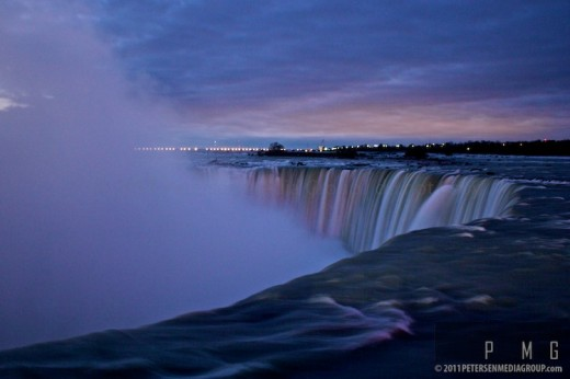 Canadian Falls Pre-Dawn