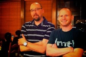 Jim Fahr and Jesse Petersen