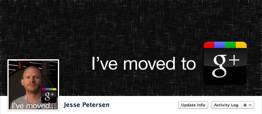 I've Moved to G+