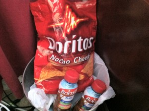 Doritos and Boost Plus