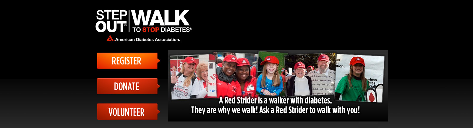 Diabetes - Step Out Walk